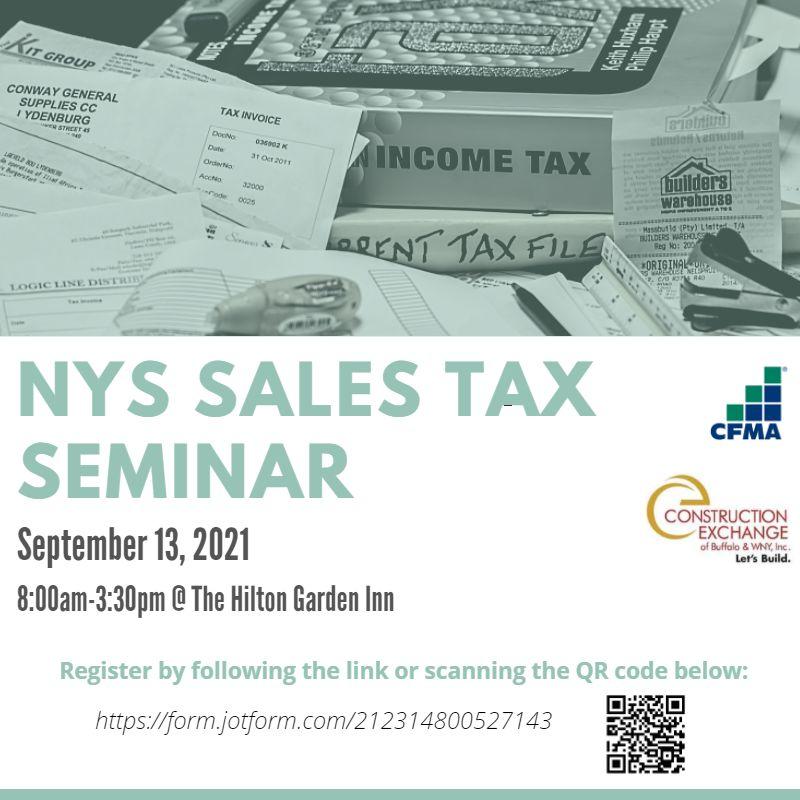 2021 Sales Tax Seminar